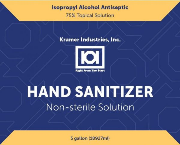 Kramer-Hand-sanitizer-Front-Label